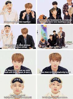 Taekook really love their chicken