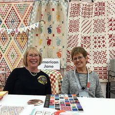 Hi @sandyklop and @sweetwaterfabric ! Looking super cute. Showing off Bread N butter and Volume II @modafabrics #showmethemoda #fqsfun #fqsquiltmarket #quiltmarket