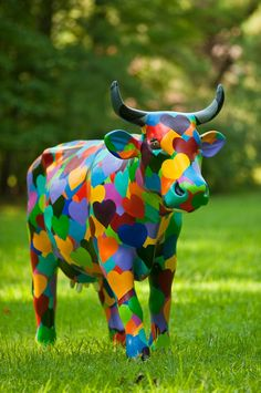 Art - Animals cow of hearts
