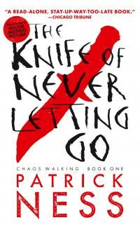 'Knife of Never letting go' is the first book in the Sci Fi YA 'chaos walking' trilogy by Patrick Ness.It's about a town called Prentisstown, where everyone can hear others thoughts. Ya Books, Good Books, Books To Read, Amazing Books, Reading Lists, Book Lists, Book Series, Book 1, Book Nerd