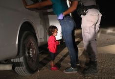 """A photo of a girl crying near the US-Mexico border -- a child who became an iconic face of President Donald Trump's """"zero tolerance"""" immigration policy last year -- has won the World Press Photo of the Year award."""