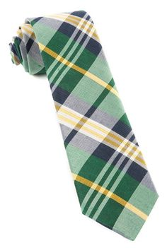 Crystal Wave Plaid Ties - Hunter Green | Ties, Bow Ties, and Pocket Squares | The Tie Bar