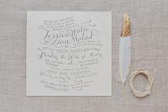 J + D Wedding Invite
