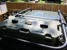Rotopax on OEM roof rack - Toyota FJ Cruiser Forum