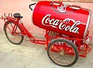 Coca-Cola Fahrrad