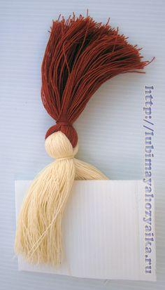 Изготовление кукол из ниток