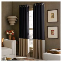 Curtainworks Kendall Lined Curtain Panel $34.99