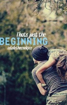 """You should read """"That's Just The Beginning"""" on #Wattpad. #Humor #Romance"""