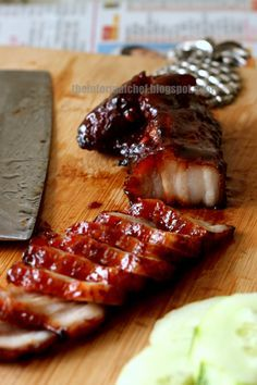 Recipe for Chinese Bbq Pork/Char Siu 叉燒 Scrumptious dish that could be easily replicated at home. A must-try. Highly recommended.