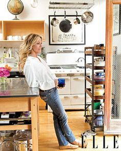 Sheryl Crow's New York City Loft With Elle Magazine