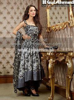 Gul Ahmed Latest Eid Dresses 2012 For Women