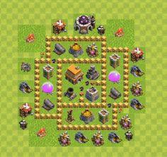 base th 5 clan wars