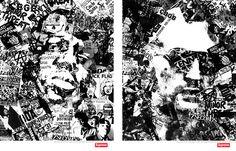 Supreme Print Ads - Biggie and Travis Bickle