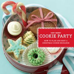 Today's busy bakers want to make a gorgeous variety of delicious Christmas cookies without spending days upon flour-smudged days mixing, rolling, and baking. This is your guide to the Christmas cookie exchange, where everyone shows up with a few batches of homemade cookies to swap. It's all the variety without the fuss! Red-and-white striped edges make this adorable book look like a Christmas present, with 120 recipes to choose from, plus tips for decorating, planning, and throwing the…