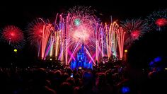 101 Great Disney World Tips...including the best location to watch the fireworks for FREE, outside the parks!