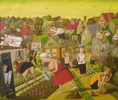 Valentin Gubarev. Vegetables and People (Of Belarus)