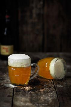 ¿Una cervecita? Receta para el día del padre. Lemon Jelly for Father's day