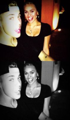 "miley and justin igual friends but she and he ""boyfriend"" she´s best for selena"