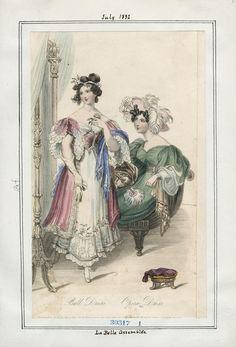 La Belle Assemblee July 1832 LAPL