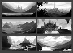 environment thumbnails concept art - Google Search