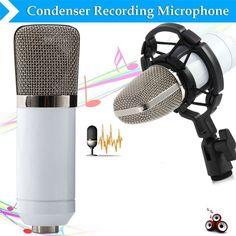 Высокое Качество БМ-700 Конденсатор Звукозаписи 3.5 мм Проводной Микрофон С Подвесом Для Радио Braodcasting Микрофон