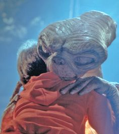 Steven Spielberg with E.T. E.T. The Extra-Terrestrial screens Friday, July 19 #Halifax #Waterfront #AFFOFE13
