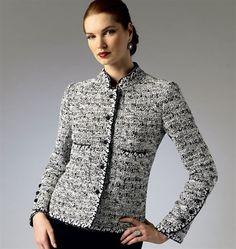 Patron de veste - Vogue 8991