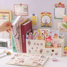 Study Desk, Study Space, Study Tables, Desk Inspo, Desk Inspiration, Cute Desk, Study Room Decor, Bookshelf Desk, Cute Bedroom Ideas