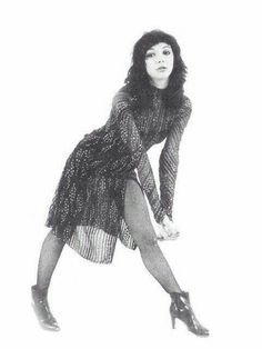 Rare photo of 80's Kate (From The Kate Bush Picture Collection)