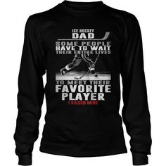 Awesome Tee ICE HOCKEY DAD Tshirts Shirts & Tees