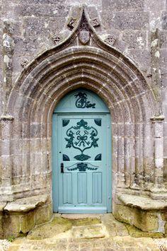 Plouharnel Sainte-Barbe chapelle Sainte-Barbe porte est
