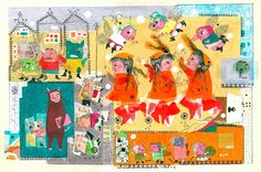 Rahele Jomepour an Iranian illustrator now living in America who illustrates mainly for editorials but also has two published children's books.