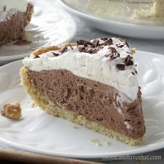 This Low Carb French Silk Pie is as silky and creamy as the original version and just 4 net carbs per serving. Its walnut crust is gluten-free and delicious