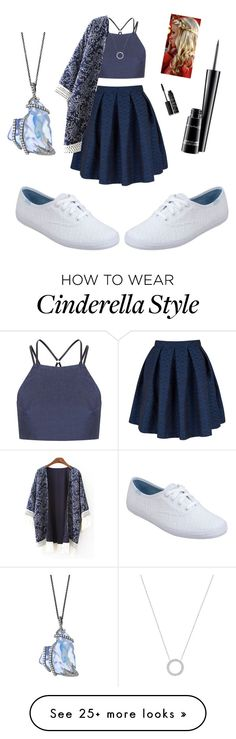 """""""Heads or Tails?"""" by sapnu2015 on Polyvore featuring Topshop, Closet, Keds, NARS Cosmetics, MAC Cosmetics and Michael Kors"""