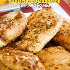 Garlic Beer Marinade for Grilled Chicken