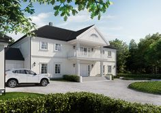 Eidsvoll - enebolig fra Block Watne Home Fashion, House Plans, Mansions, House Styles, Gallery, Interior, Rooms, Future, Home Decor