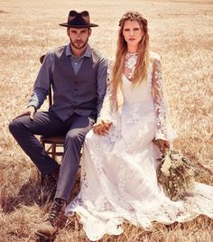 Find a Vintage Boho Lace Wedding Dresses Long Sleeve Illusion Country Beach Wedding Dress Cheap Bridal Dresses Wedding Gowns Online Shop For U ! Beach Bridal Dresses, Country Wedding Dresses, Bohemian Wedding Dresses, Cheap Wedding Dress, Bridal Gowns, Wedding Gowns, Dress Beach, Wedding Blog, Lace Wedding