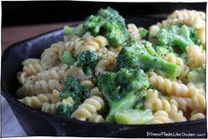 Healthy Broccoli Mac & Cheese - it doesn't taste like chicken