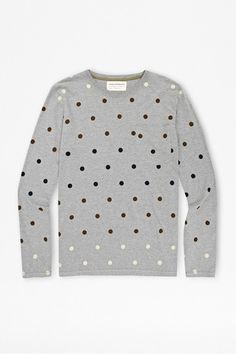 Gradient Polka Dot T-Shirt