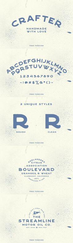 Download your Free Vintage Font to complement your script design @Pixel Surplus