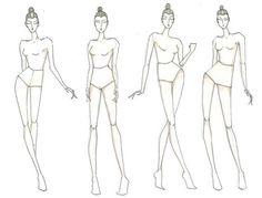 Шаблоны под модные эскизы / Бумага и карандаши (скрапбукинг, оригами, и т.д.) / ВТОРАЯ УЛИЦА
