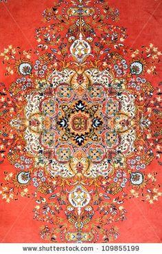 Texture Of Turkish Carpet Stock Photo 109855199 : Shutterstock