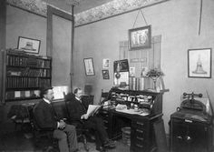 Typical law office 1901