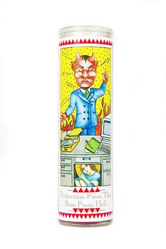 office prayer candle