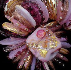 DSG Beads Handmade Organic Glass Made To Order by debbiesanders, $125.00