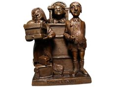"Charles Bragg (American, b. 1931), ""Divorce Court"", bronze sculpture, signed in the cast, numbered, edition of 95"