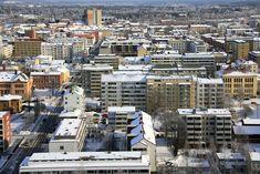 Vaasa town, Finland. - Photo: Arto Halttunen.