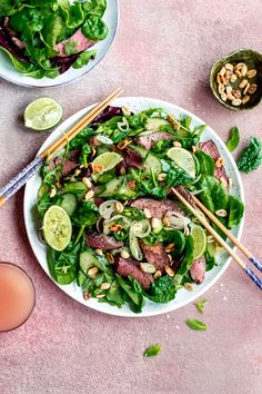 Last week I had the chance to create, cook, style and shoot this salad for a client. All the ingredients were so fresh that inspired me to take the styling a little bit further! (check out the post for a chat about food photography and styling). #amatterofnourishment #lunchinspiration #beefsalad #irishbeef #irishfood #foodphotography #foodstyling Irish Beef, Beef Salad, Tasty, Yummy Food, Irish Recipes, Food Styling, Food Photography, Meals, Fresh