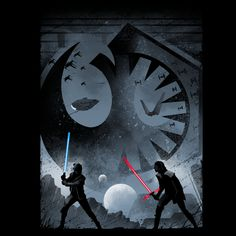 The last duel of Ben and Rey.