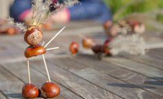 Herfstknutsels: spinnenweb maken